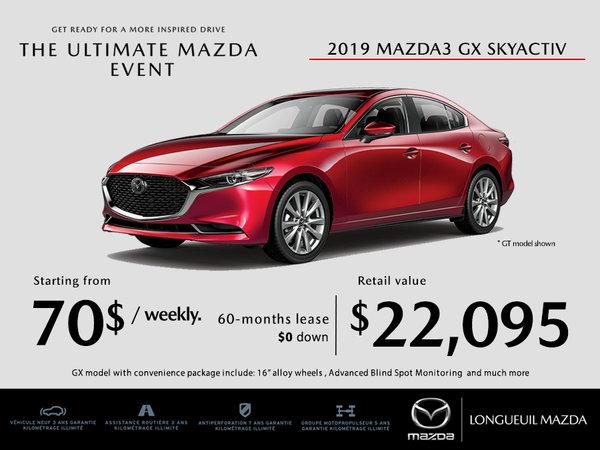 2019 Mazda3 - Promotion