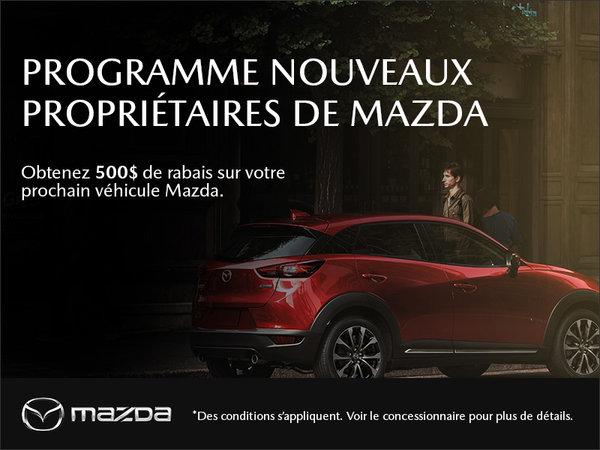 Le programme des nouveaux propriétaires Mazda