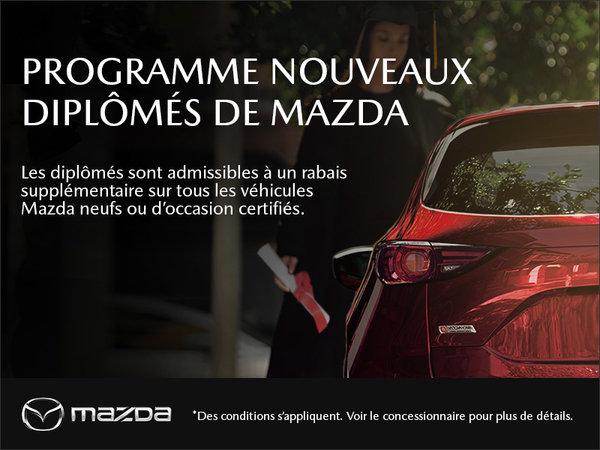 Le programme Mazda pour nouveaux diplômés