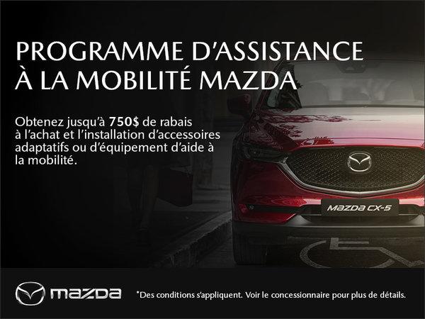 Le programme d'aide à la mobilité Mazda