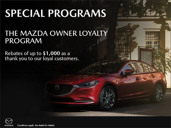 The Mazda Owner Loyalty Program