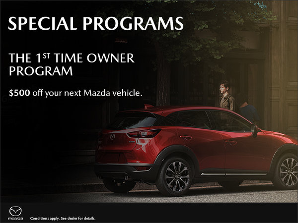 Mazda 1st Time Owner Program