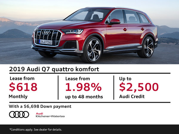 Lease the Q7