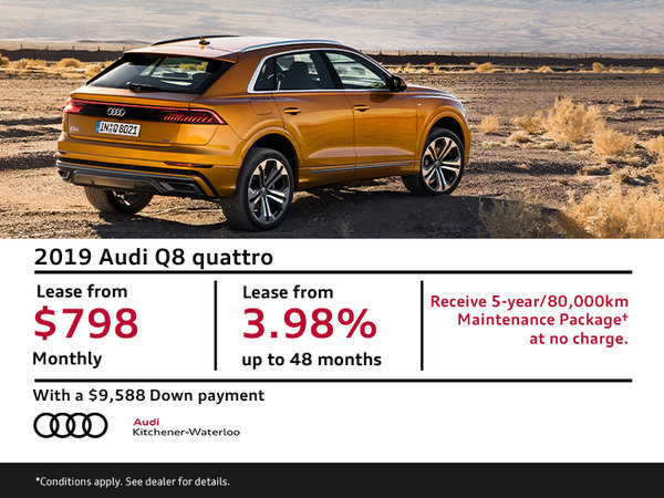 Lease the first-ever Q8
