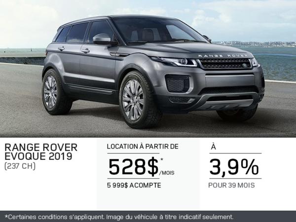 Le Range Rover Evoque 2019