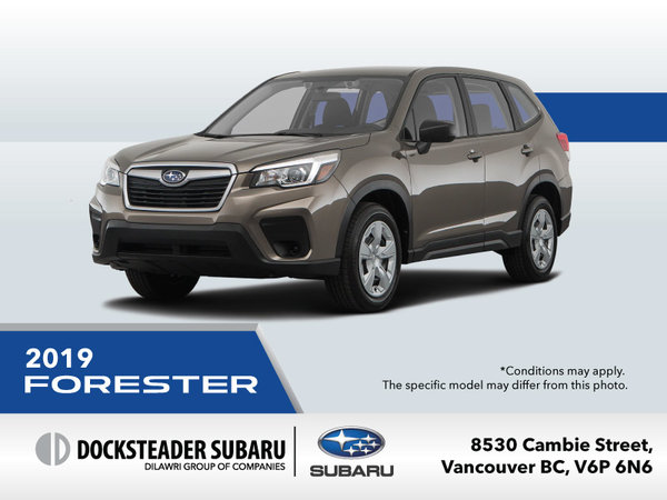 2019 Subaru Forester Promotion