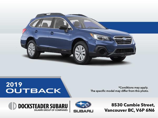 2019 Subaru Outback Promotion