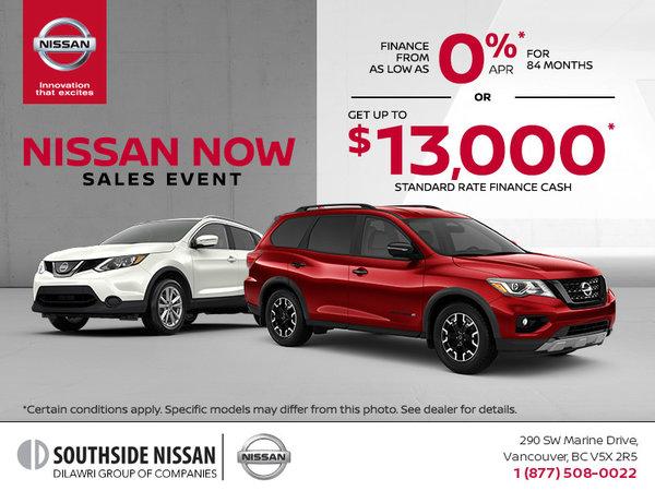 Nissan Now Sales Event!