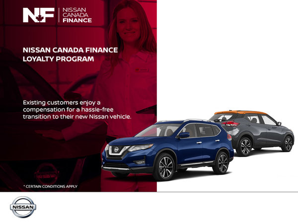 The Nissan Canada Finance Loyalty Program