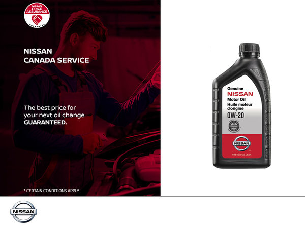 Nissan Service Oil Change