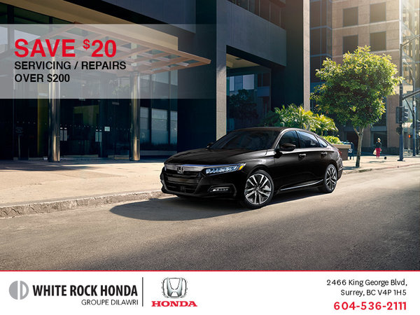 Save $20 on Any Service or Repair