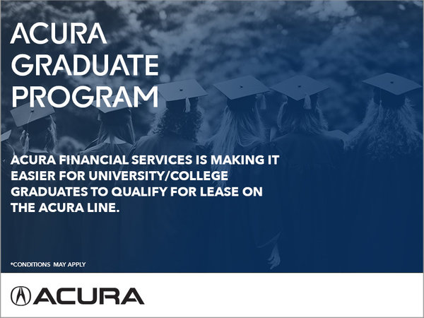 The Acura Graduate Program