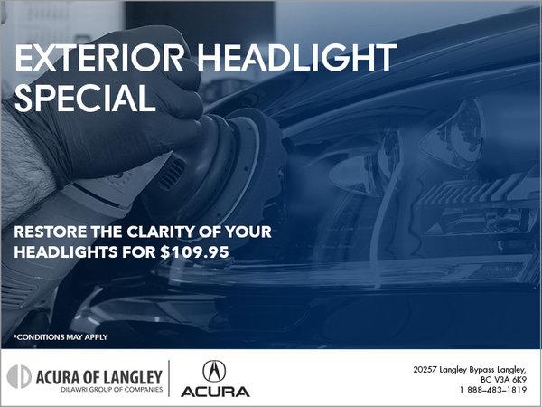 Exterior Headlight Special