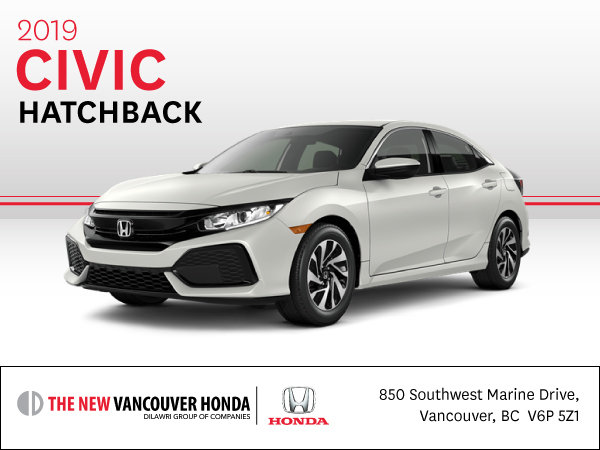 2019 Civic Hatchback