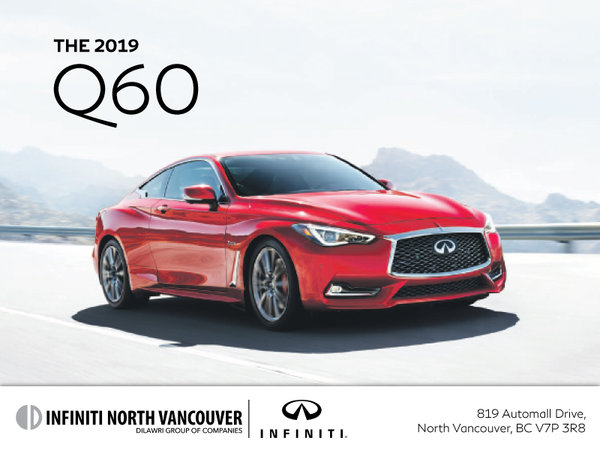 Get a new INFINITI Q60 today!