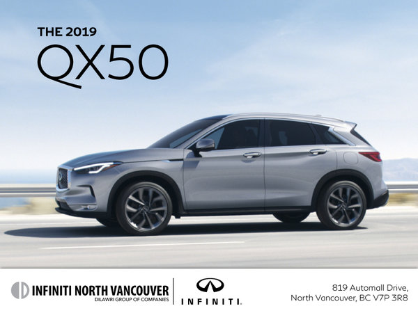 Get a new INFINITI QX50 today!
