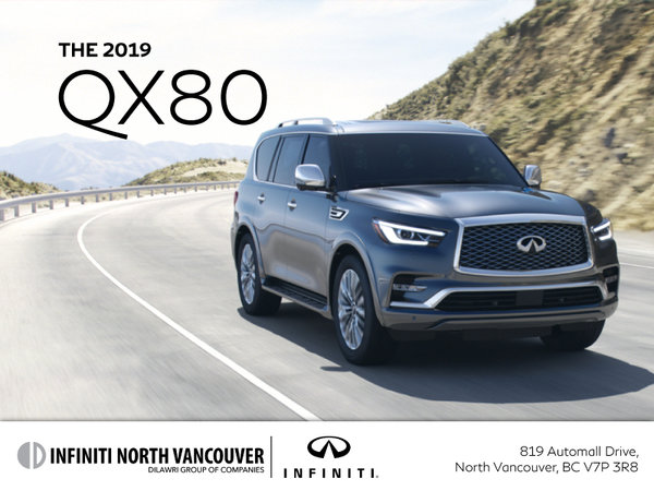 Get a new INFINITI QX80 today!