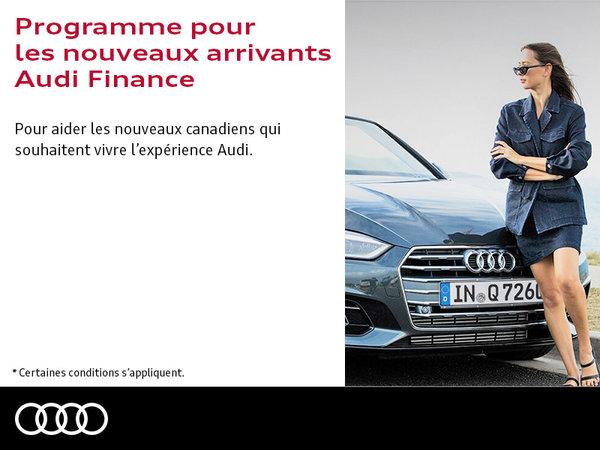 Programme pour nouveaux arrivants Audi Finance