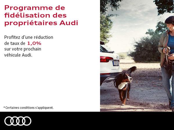 Programme de fidélisation des propriétaires Audi