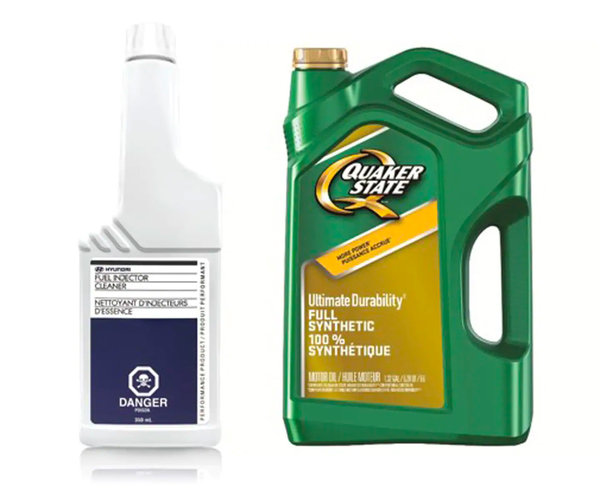 SYNTHETIC OIL UPGRADE WITH FUEL INJECTOR CLEANER ONLY $25