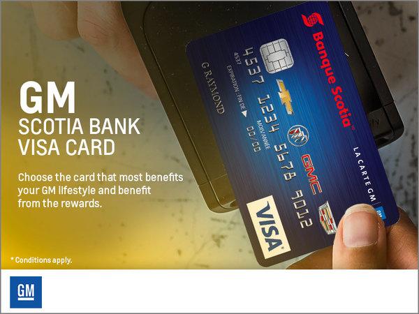 GM Scotia Bank Visa Card