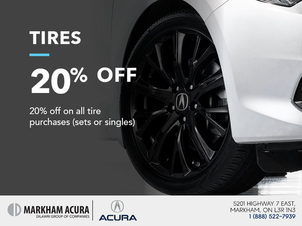 20% off on every tire purchase
