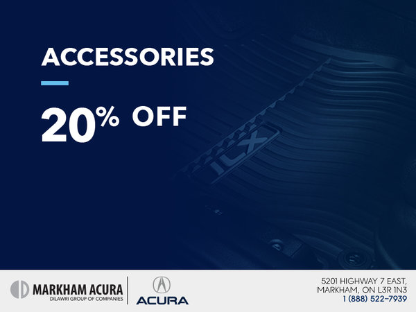 Get 20% off on accessories