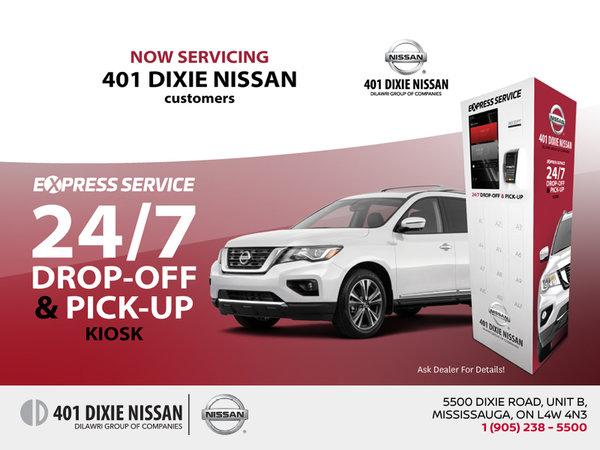 Nissan Express Kiosk Service