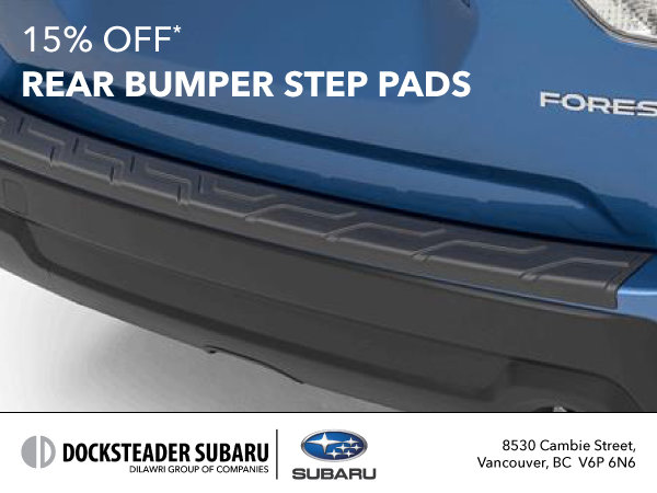 15% Off Rear Bumper Step Pads