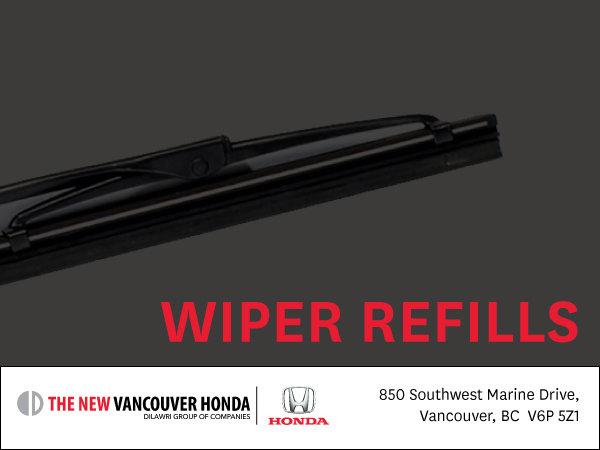 Wiper refills | $10 each
