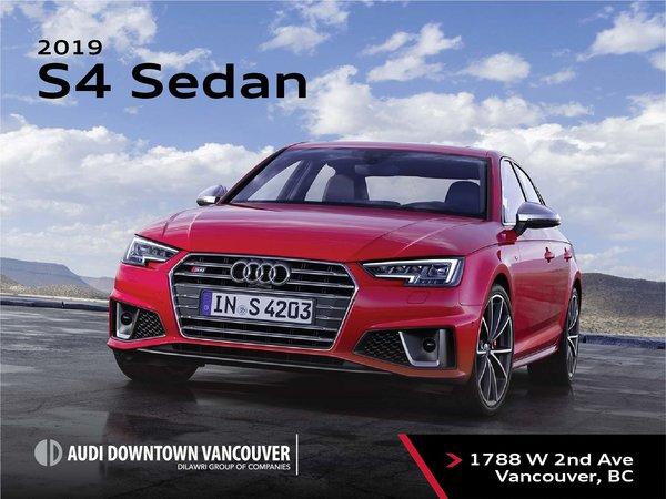 The 2019 Audi S4 Sedan