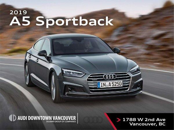 The 2019 Audi A5 Sportback
