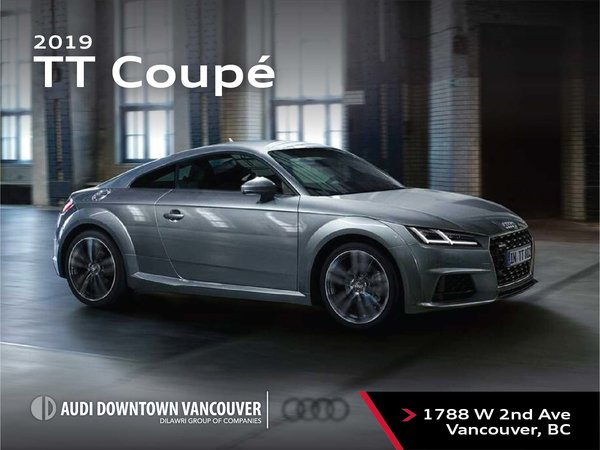 The 2019 Audi TT Coupe