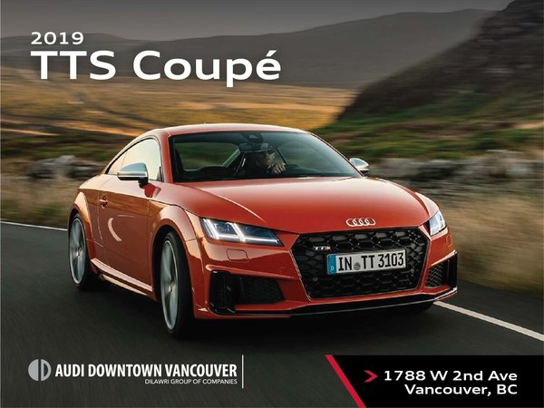 The 2019 Audi TTS Coupe
