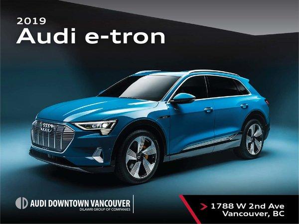 The 2019 Audi e-tron 55 quattro