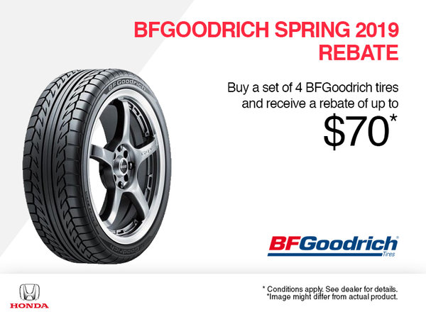 BFGoodrich Spring 2019 Rebate