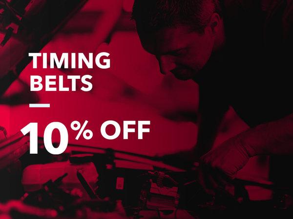 Timing Belt: 10% OFF