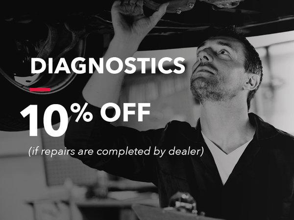 Diagnostics: 10% OFF