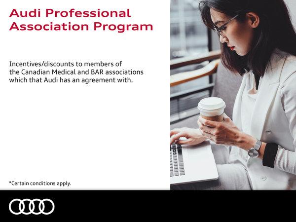 Audi Professional Association Program