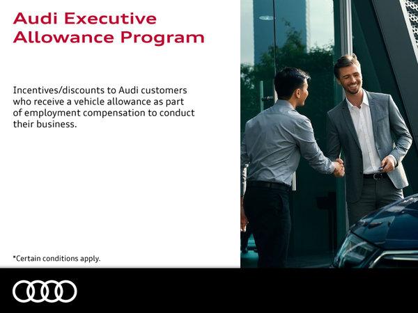 Audi Executive Allowance Program