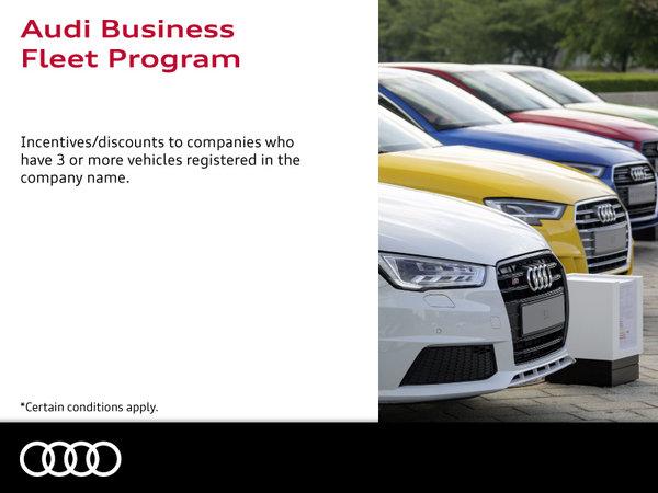 Audi Business Fleet Program