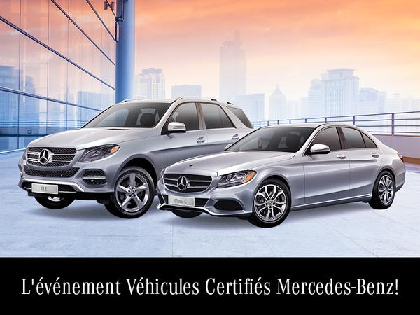L'événement Véhicules Certifiés Mercedes-Benz!