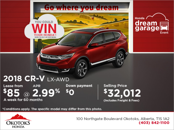 Get the 2018 CR-V Today!