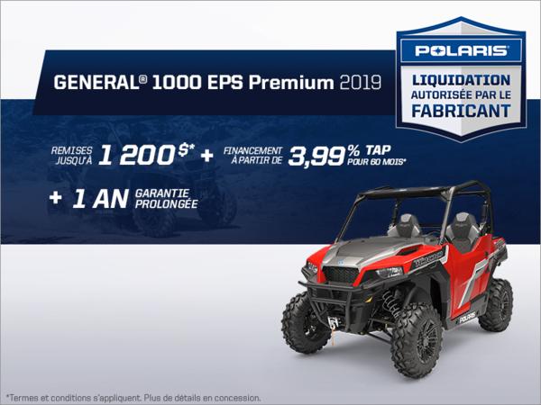 Beauce Sports - Épargnez sur le General 1000 EPS Premium 2019