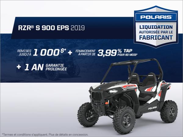 Beauce Sports - Épargnez sur le RZR S 900 2019