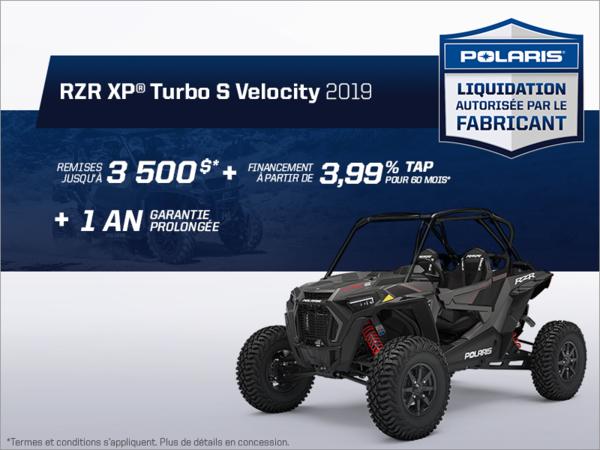 Beauce Sports - Épargnez sur le RZR XP 4 Turbo S Velocity 2019