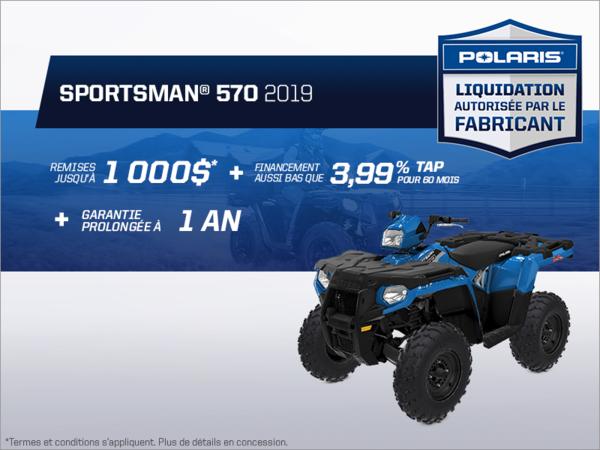 Beauce Sports - Épargnez sur le Sportsman 570 2019