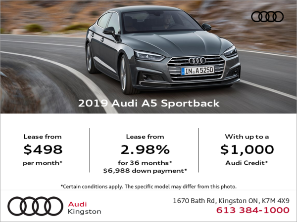 Drive the 2019 A5 Sportback today!