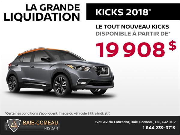 Le tout nouveau Nissan Kicks 2018