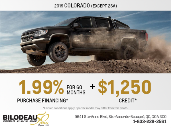Get the 2019 Chevrolet Colorado